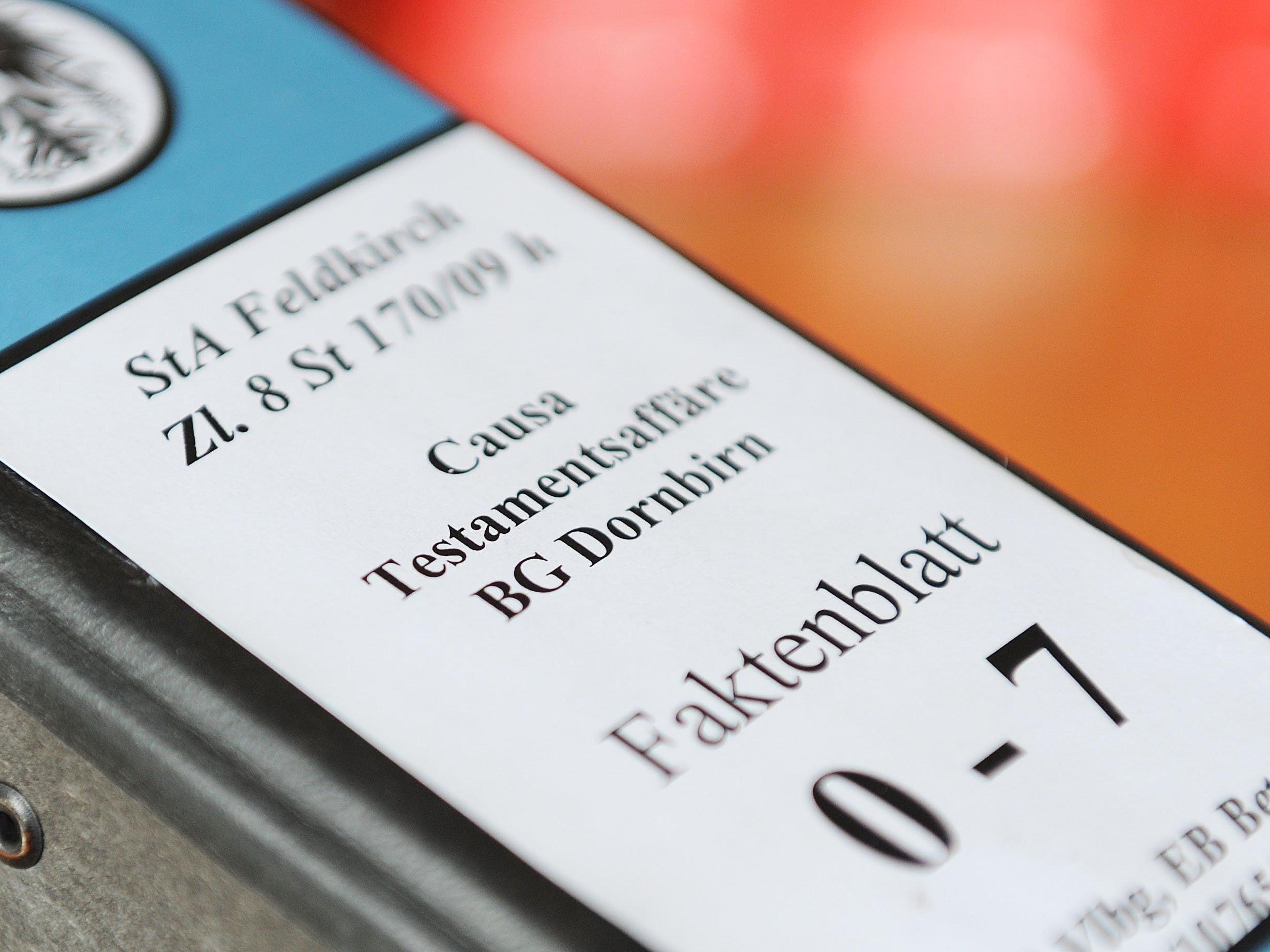 Testamentsaffäre: Schadensersatzzahlungen von knapp 180.000 Euro