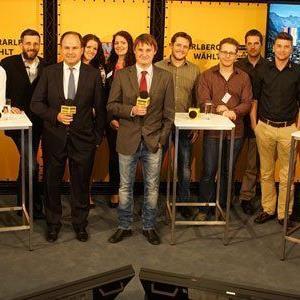 Auszeichnung für Live-Berichterstattung zu den Vorarlberger Landtagswahlen 2014 auf VOL.AT.
