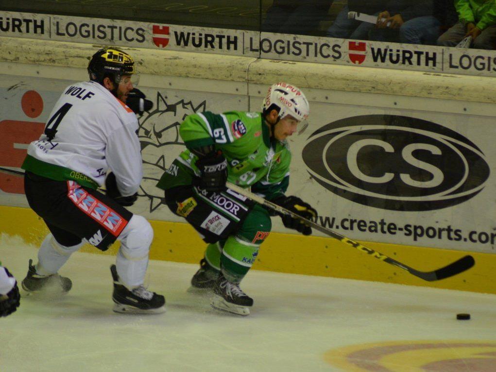 Kevin Schettina & Co. konnten die Niederlage gegen Lustenau nicht verhindern.
