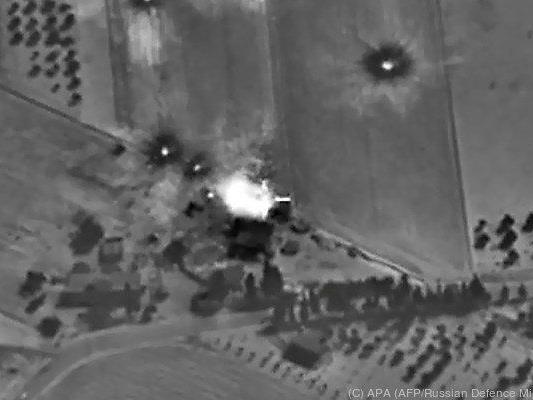 Russland bombardiert Rebellen - aber welche?