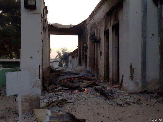 Das Spital in Kunduz wurde stark zerstört