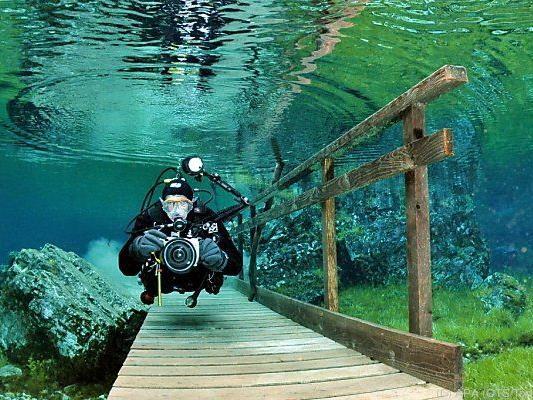 Der Grüne See ist bei Tauchern äußerst beliebt