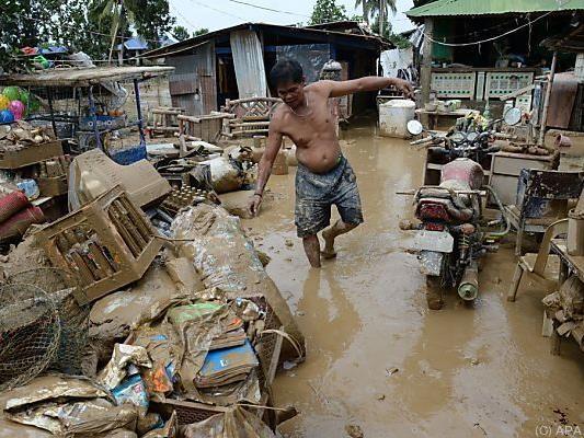 Viele Menschen mussten ihre Häuser verlassen