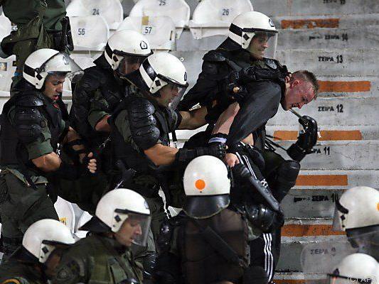 Einige Dortmunder benahmen sich in Griechenland daneben
