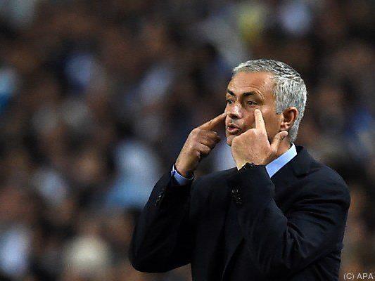 Jose Mourinho konnte zuletzt immer häufiger seinen Augen nicht trauen