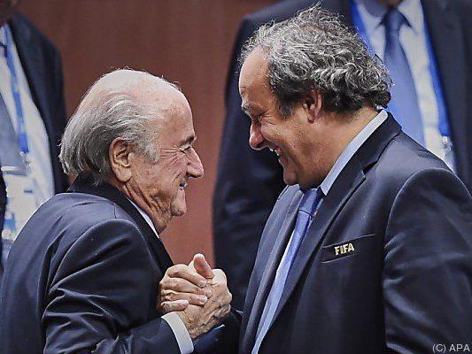 Blatter und Platini in besseren Zeiten