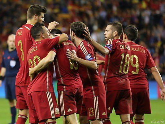 Spanien schlug Luxemburg 4:0