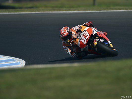 Der Honda-Pilot distanzierte die Konkurrenz um drei Zehntel und mehr