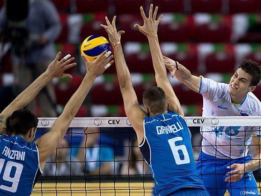 Slowenen besiegten im Halbfinale Italien