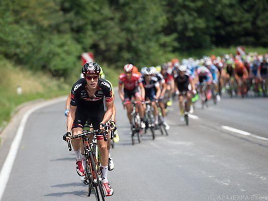 Gogl bei der Österreich-Tour im Juli 2015
