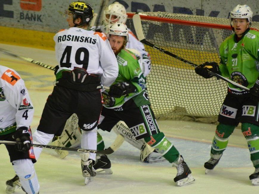 Marcel Wolf (li.), Linus Lundström & Co. möchten in den nächsten Partien viele Punkte sammeln