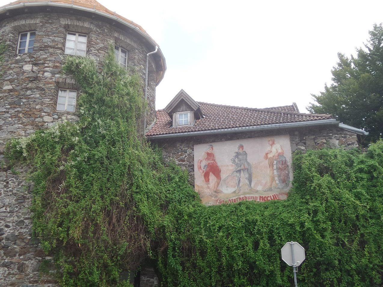 Stadtmauer in Lienz