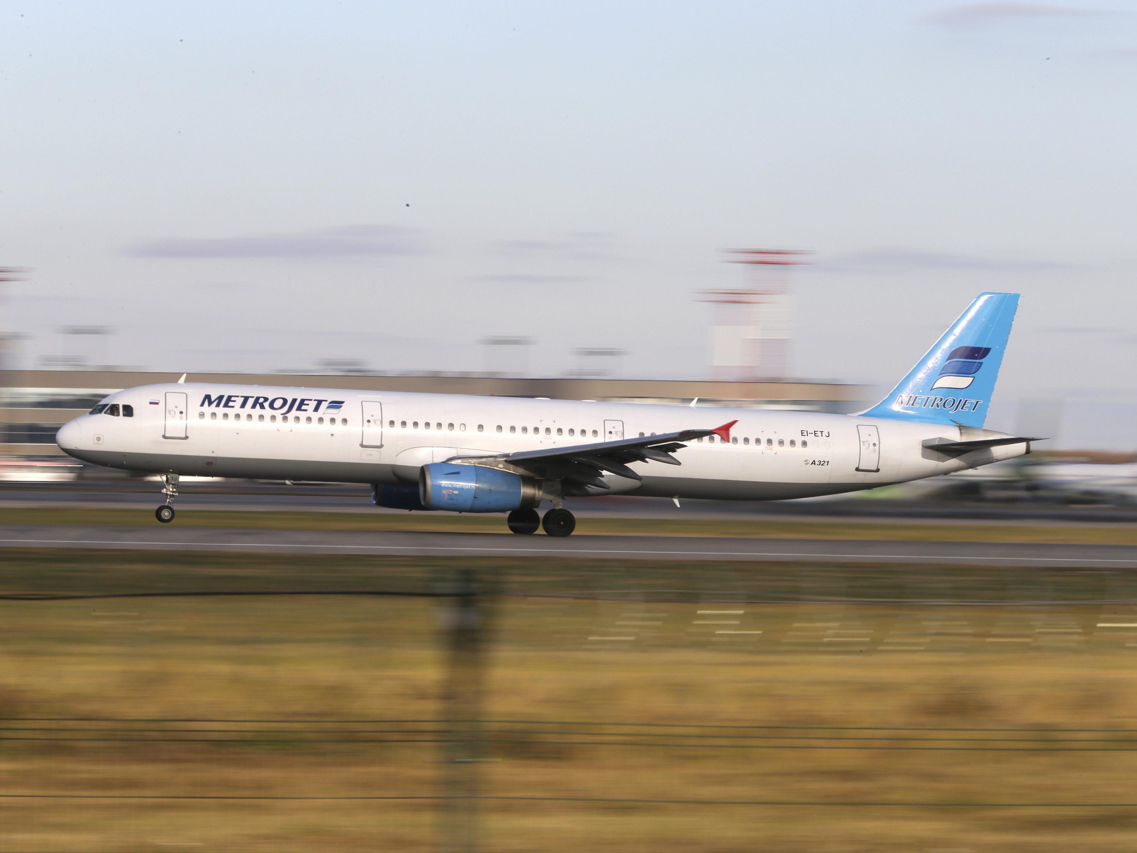 Russisches Passagierflugzeug im Sinai abgestürzt - 224 Passagiere an Bord.