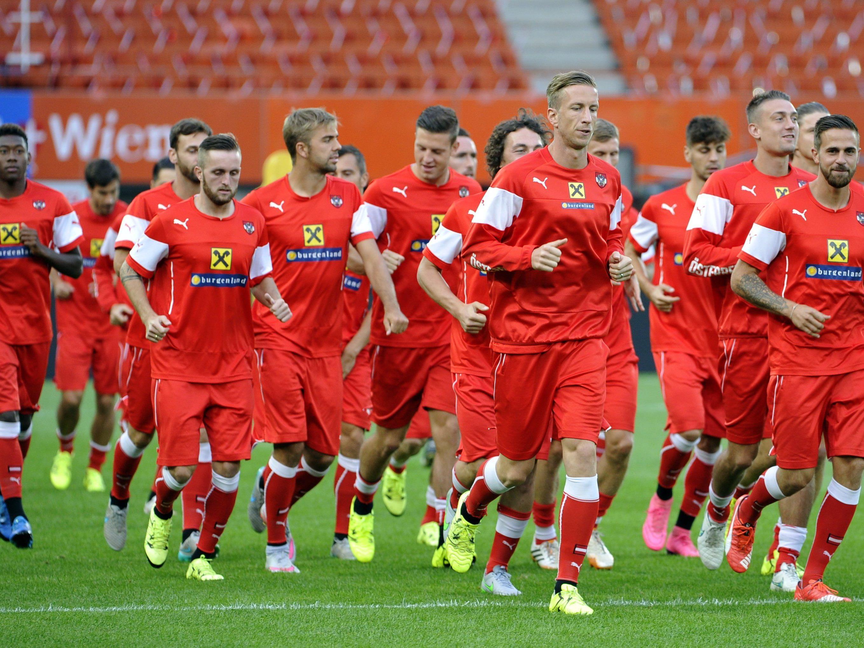 Das ÖFB-Team will auch die beiden letzten EM-Qualifikationsspiele gewinnen.