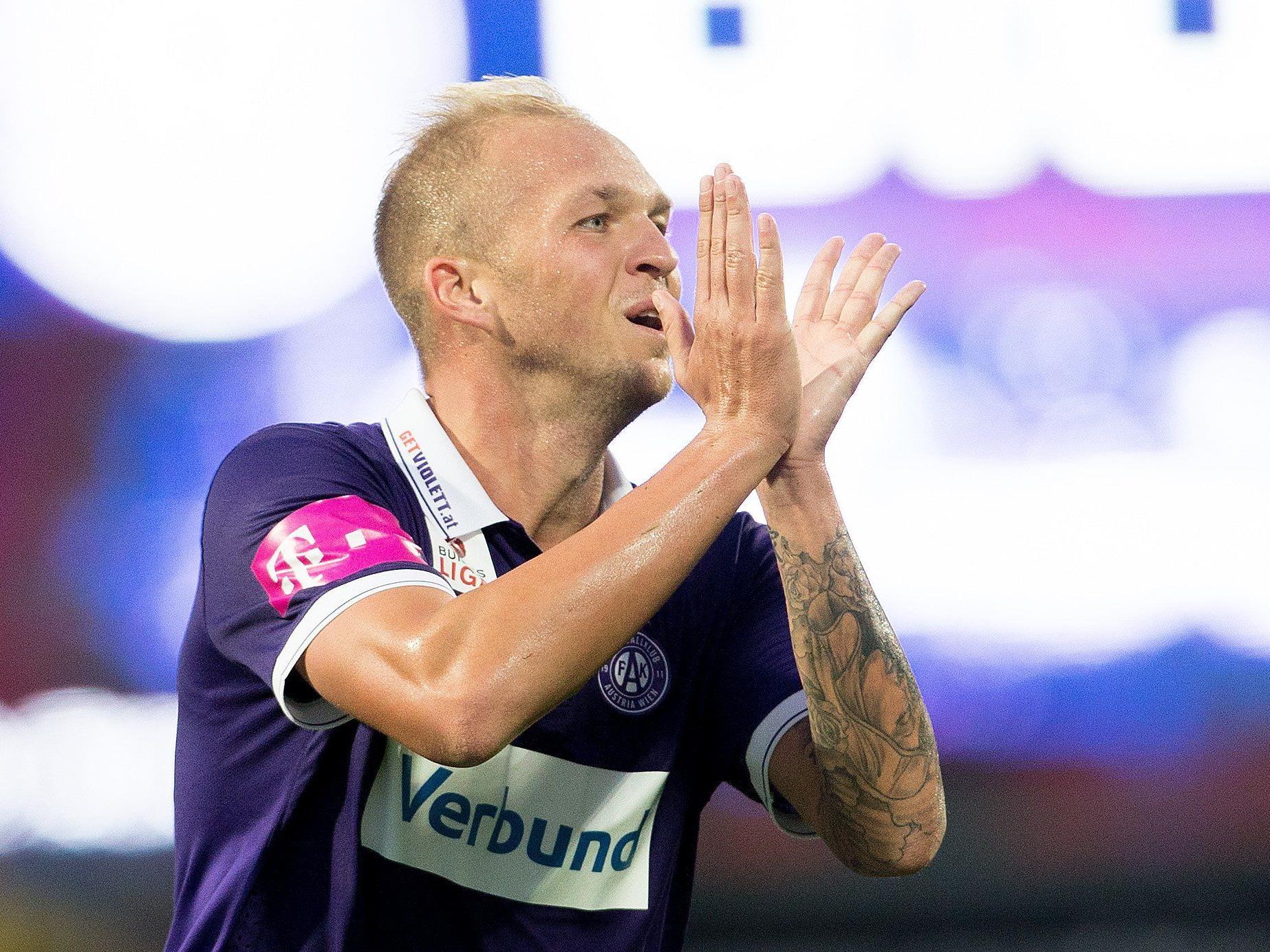 Raphael Holzhauser will gegen Grödig den nächsten Sieg.