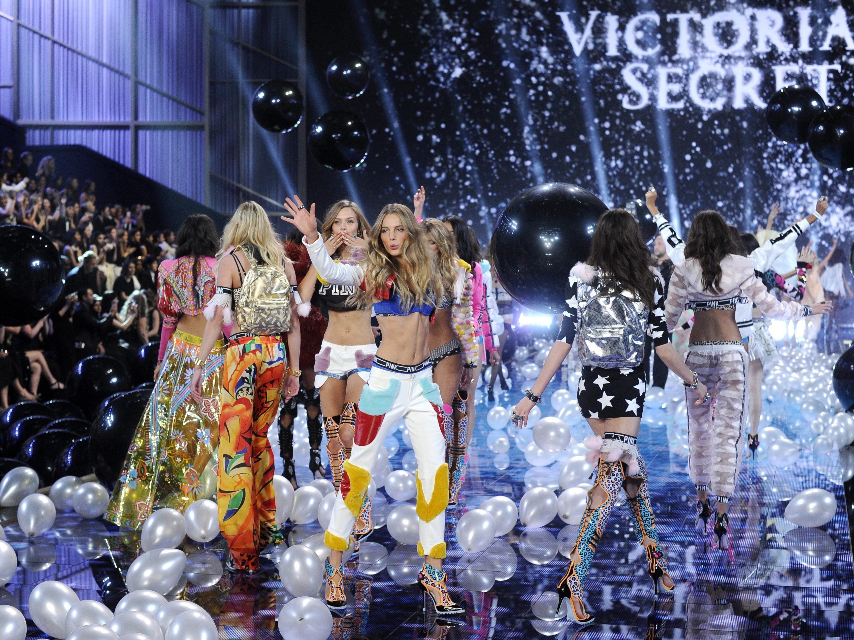 """Die Engel von """"Victoria's Secret""""."""