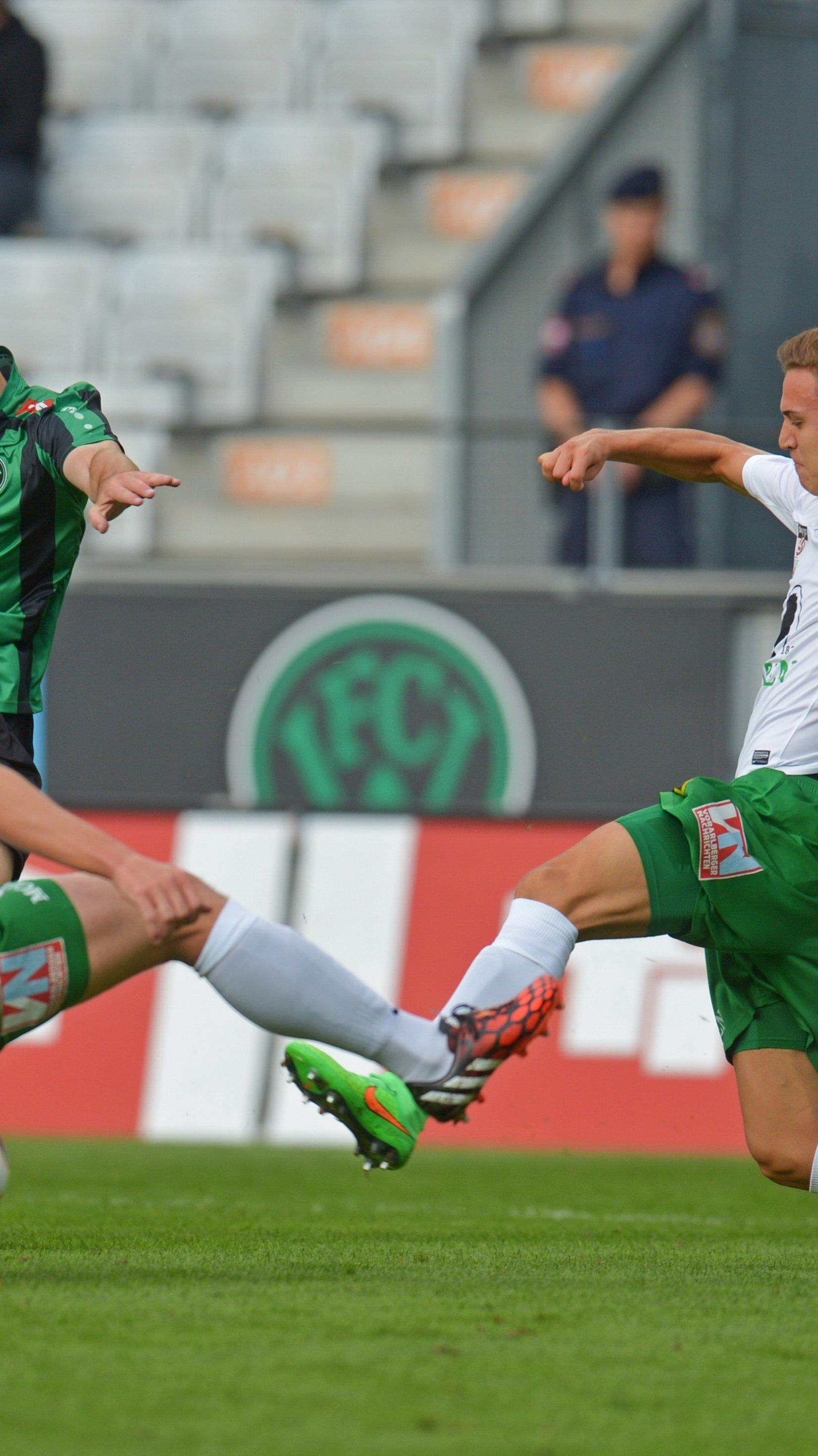 Das erste Saison-Duell hat die Lustenauer Austria in Innsbruck mit 0:1 verloren.