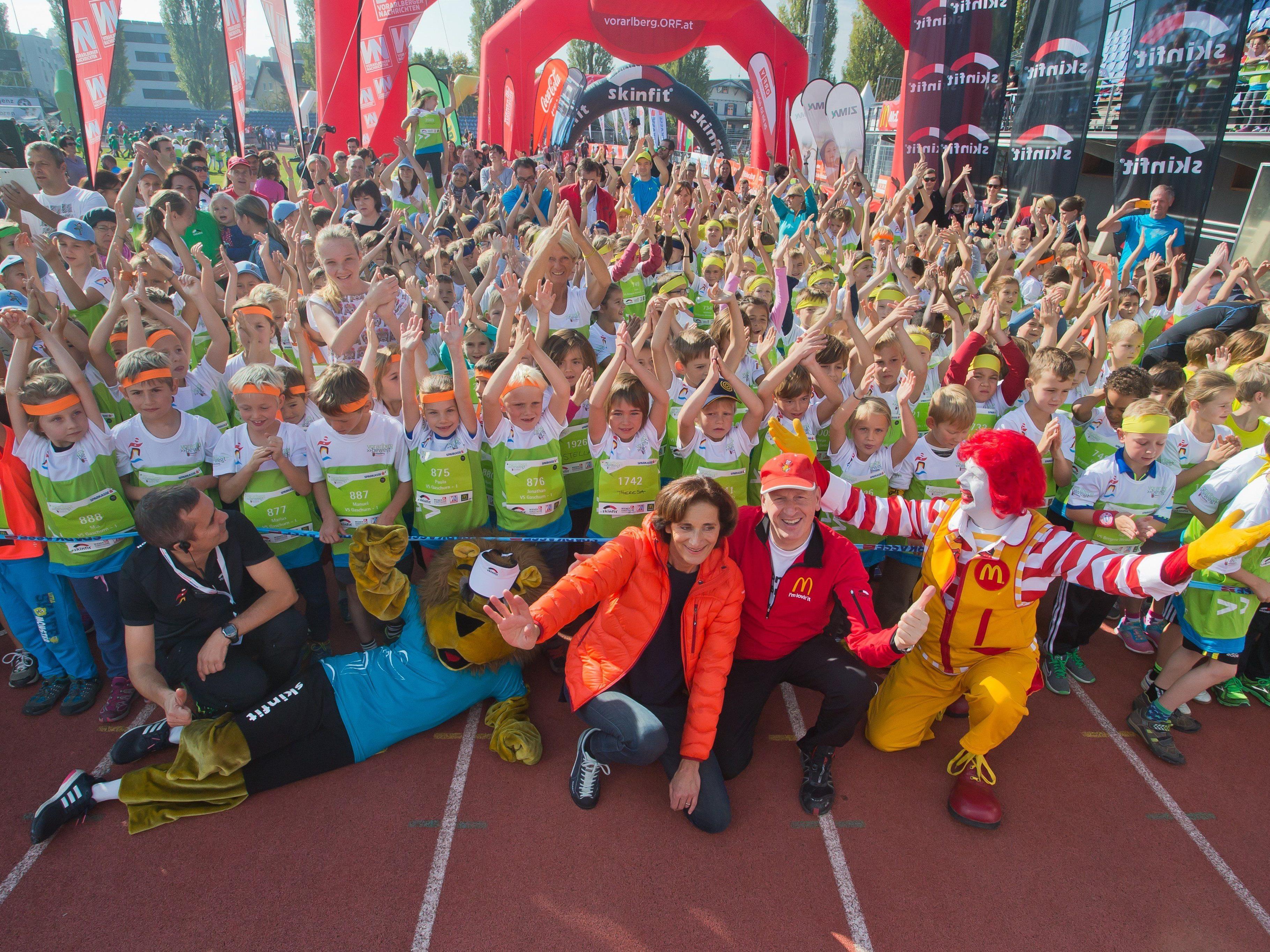 """Das war der """"Vorarlberg bewegt""""-Kindermarathon 2015 in Bregenz."""