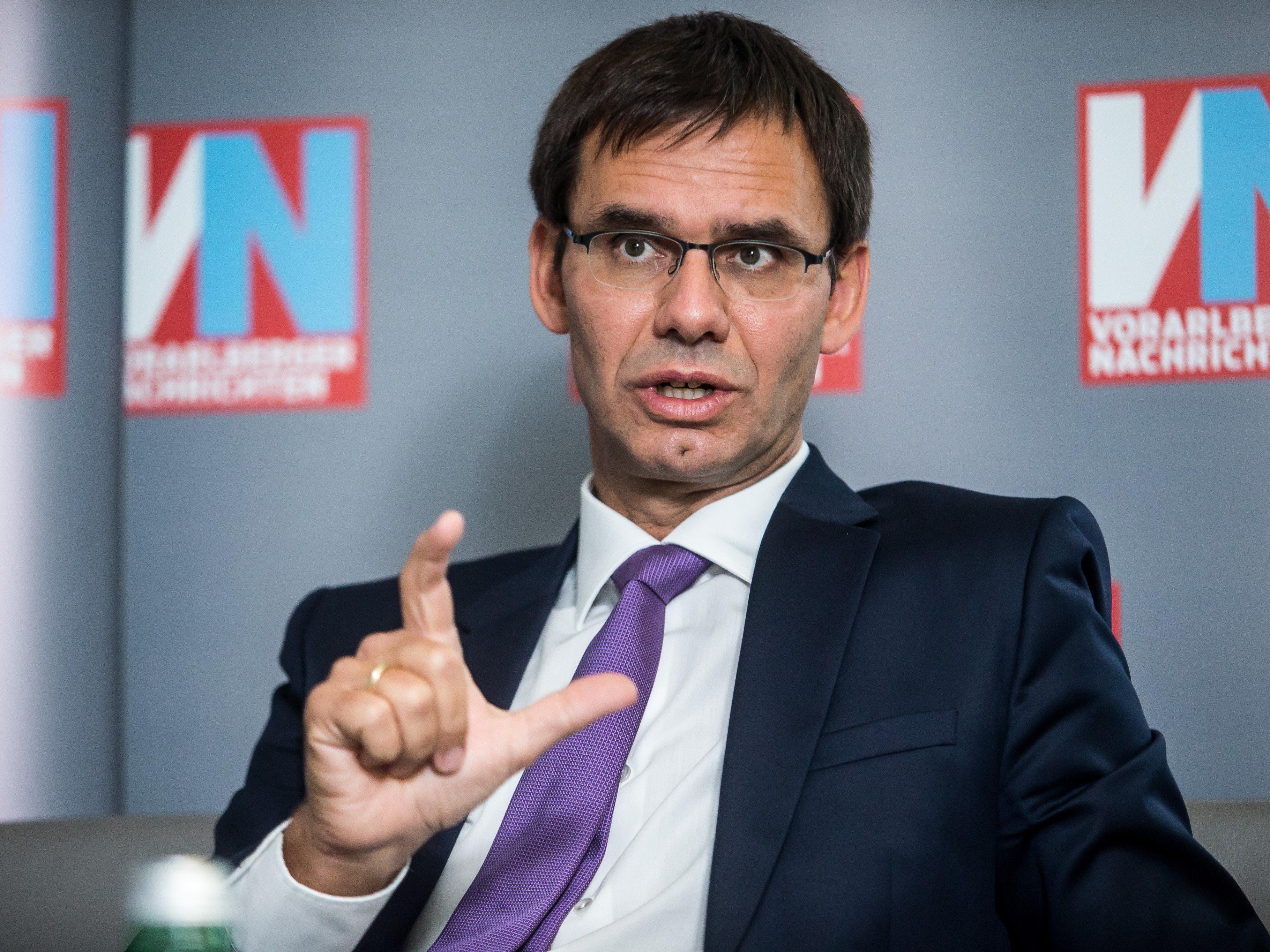 Landeshauptmann Markus Wallner will Reformen im Laufschritt.