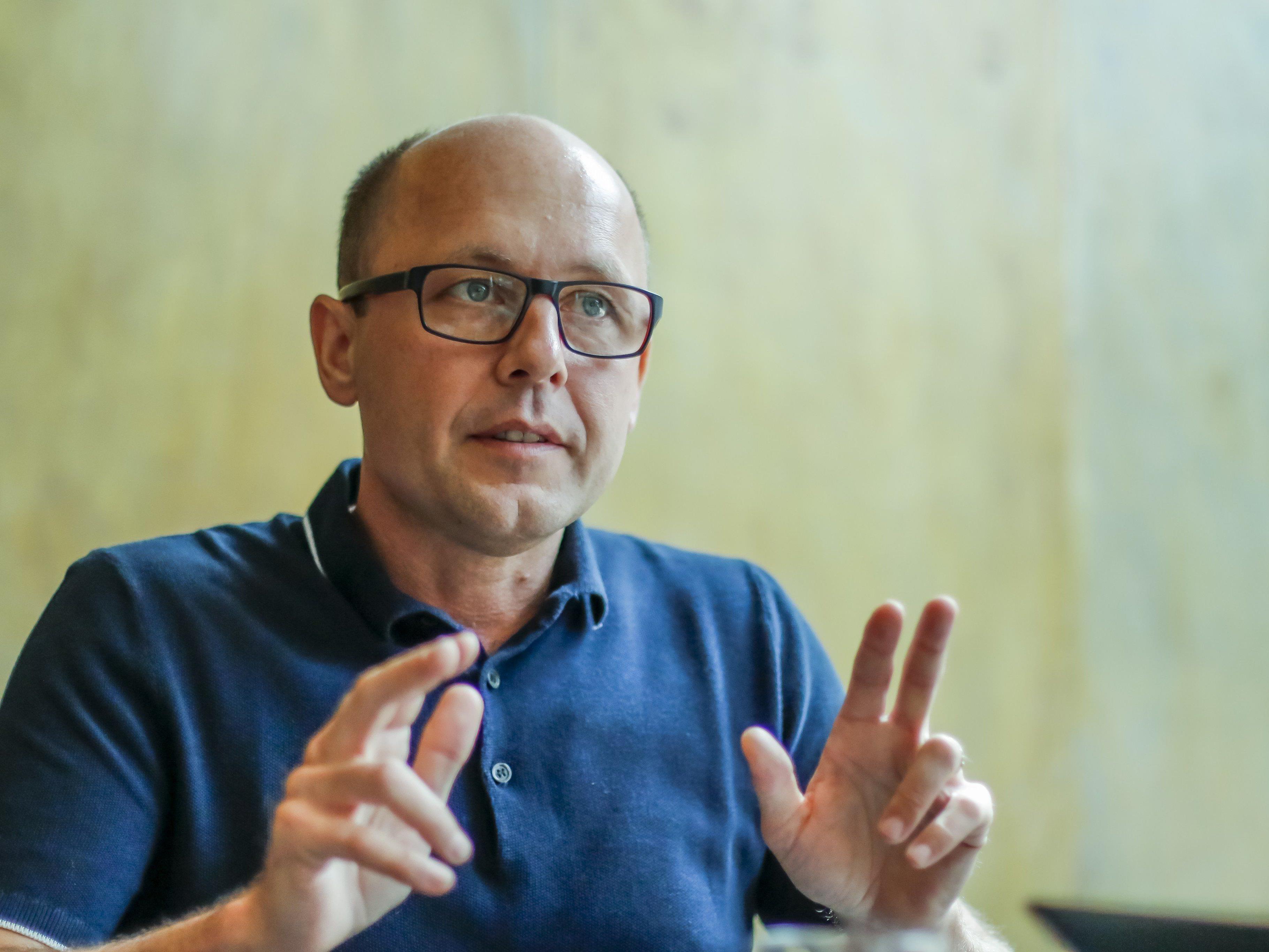 Michael Ritsch ortet eine Mogelpackung bei den Grünen.