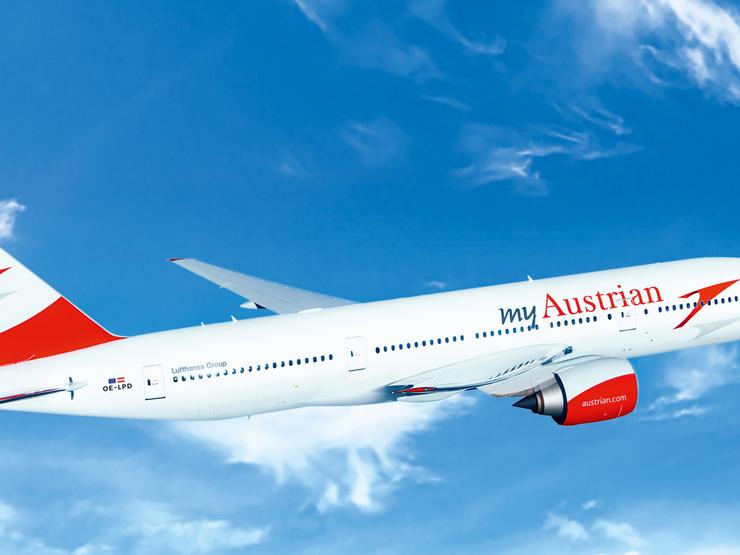 Die AUA führt zahlreiche Flüge in den Osten durch.