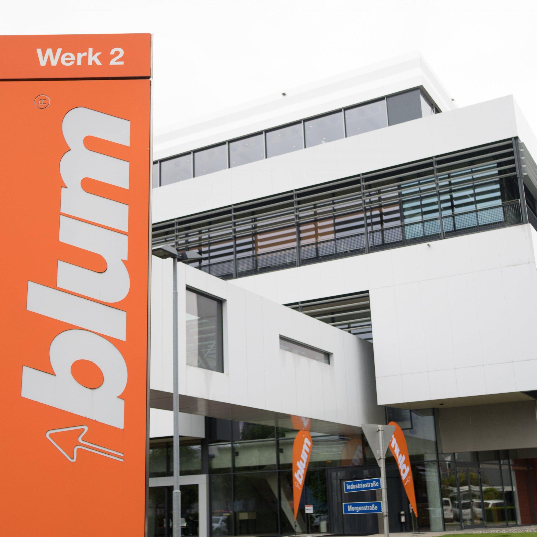 Gleich drei deutsche Design-Preise hat Blum für seine Produkte gewonnen.