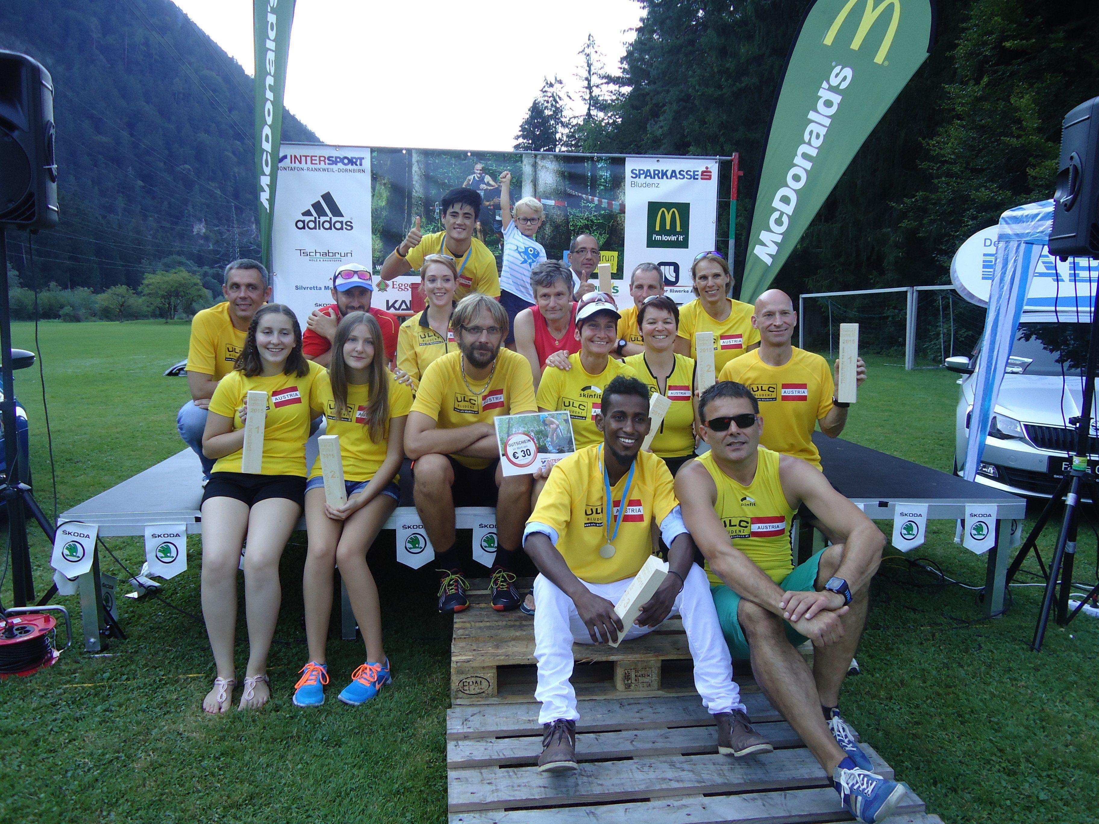 ULC Bludenz wieder sehr erfolgreich beim Trailrun in Lorüns.