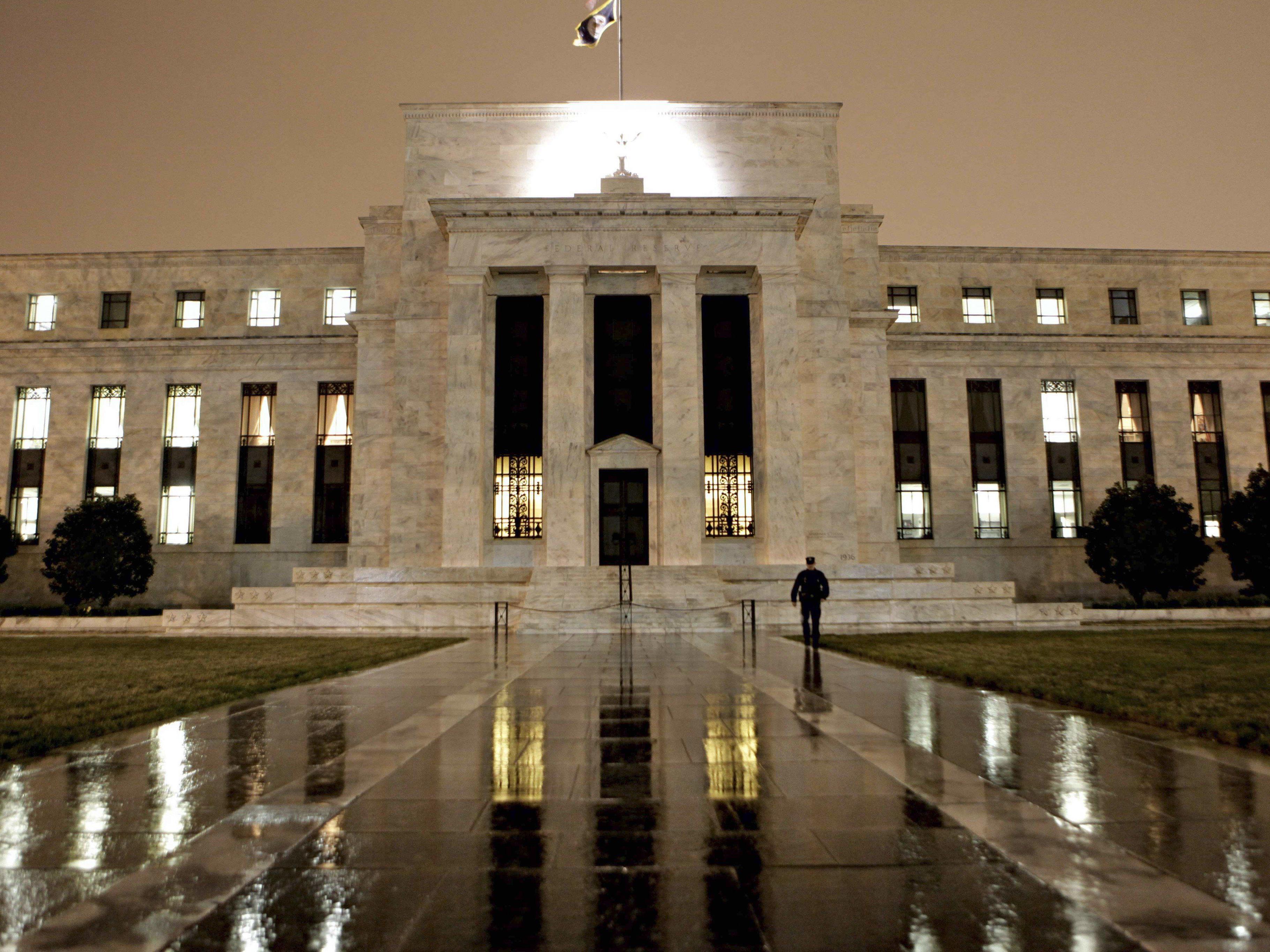 Die mächtigste Notenbank der Welt ist das Barometer der globalen Konjunktur.