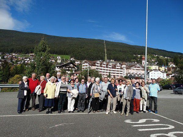 Frastanzer  Pensionistenverband  im Südtirol