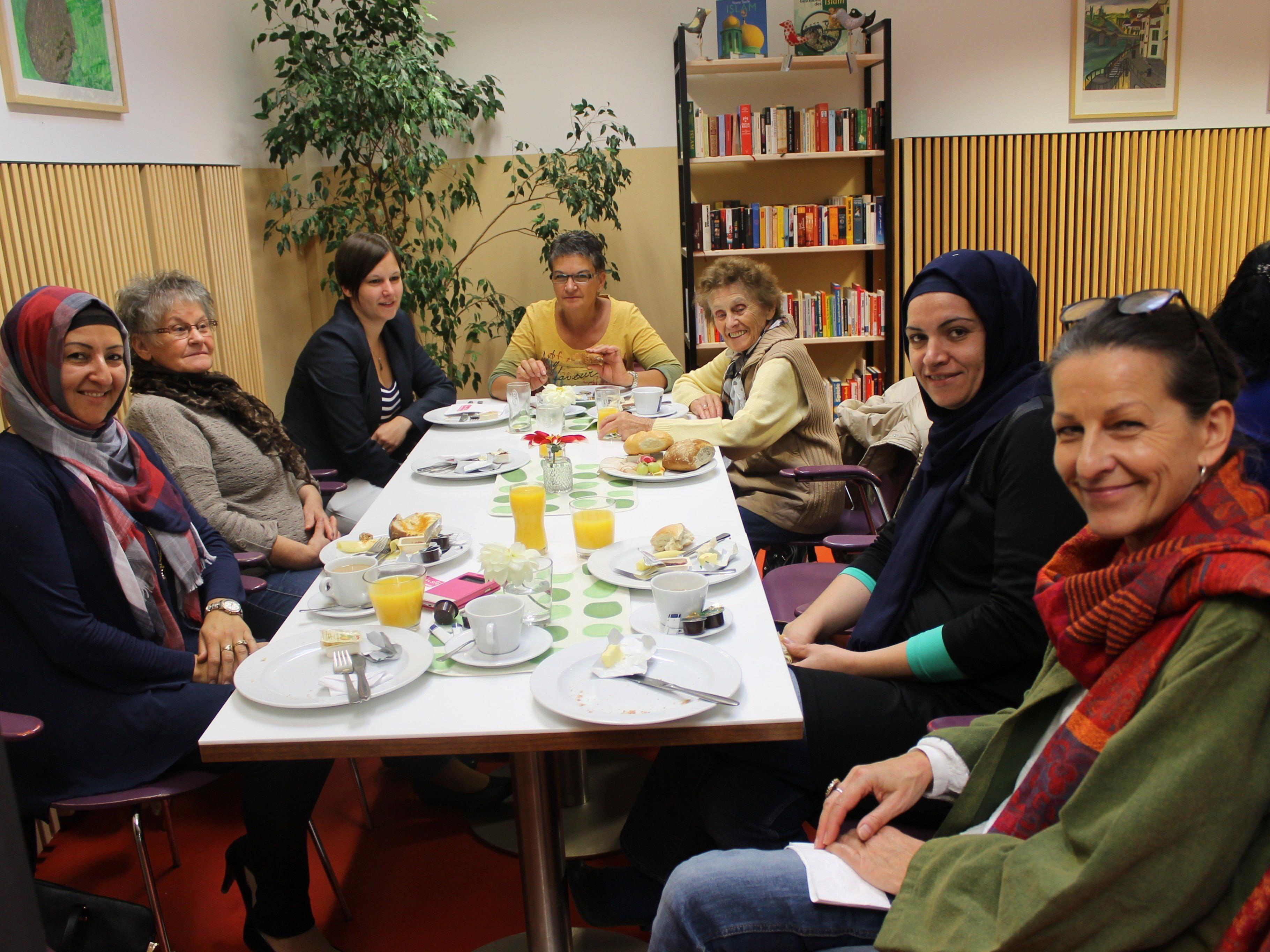 Die Dialoge zwischen den verschiedenen Kulturen klappten wunderbar