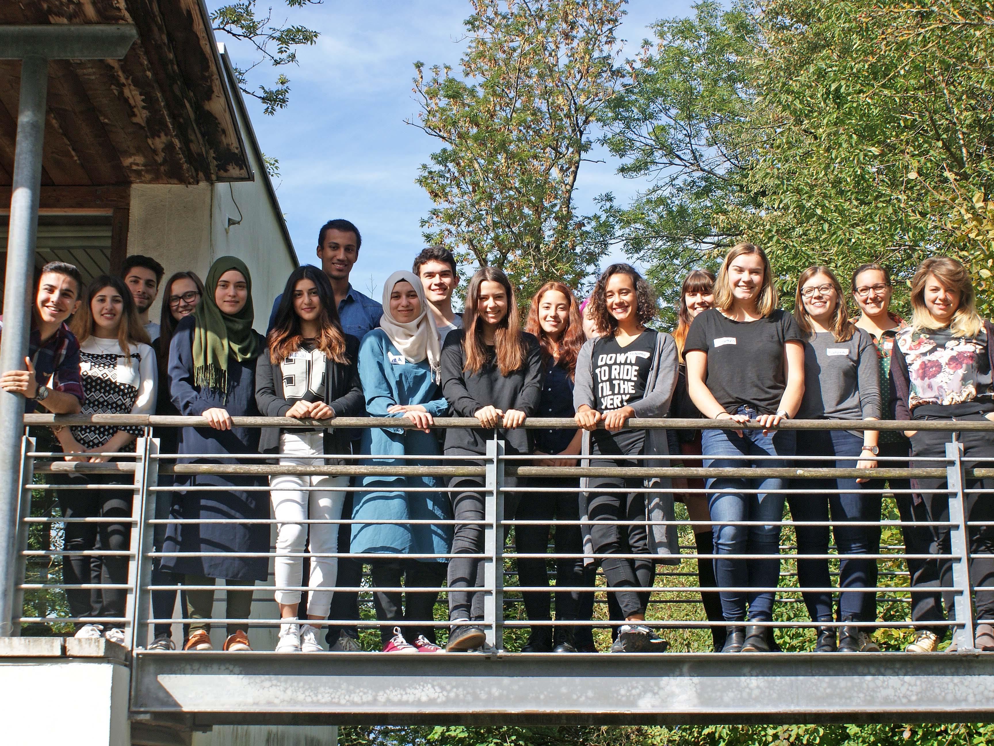 """Flucht und Integration"""" waren die Themen eines von aha und freigeist organisierten Workshops in St. Arbogast."""