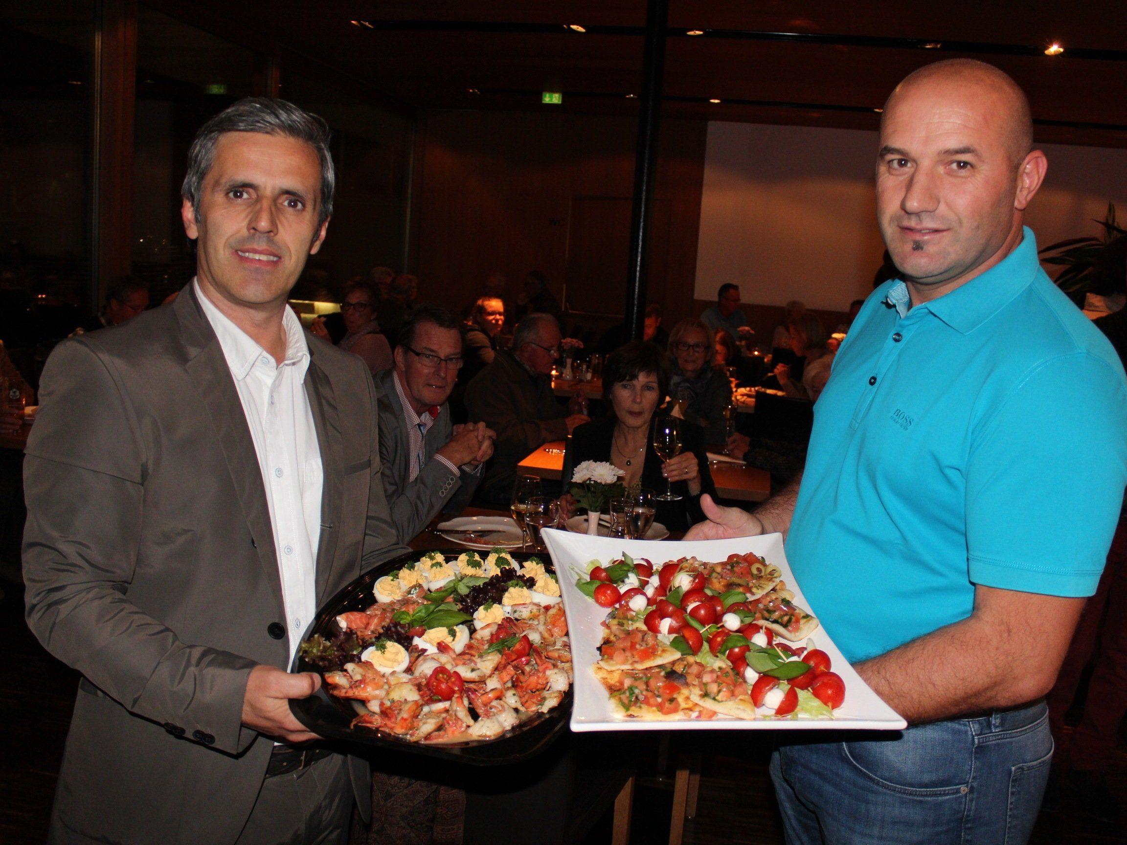 Die neuen Hofsteiger-Pächter Isi Sultani und Rexhaj Kosove.