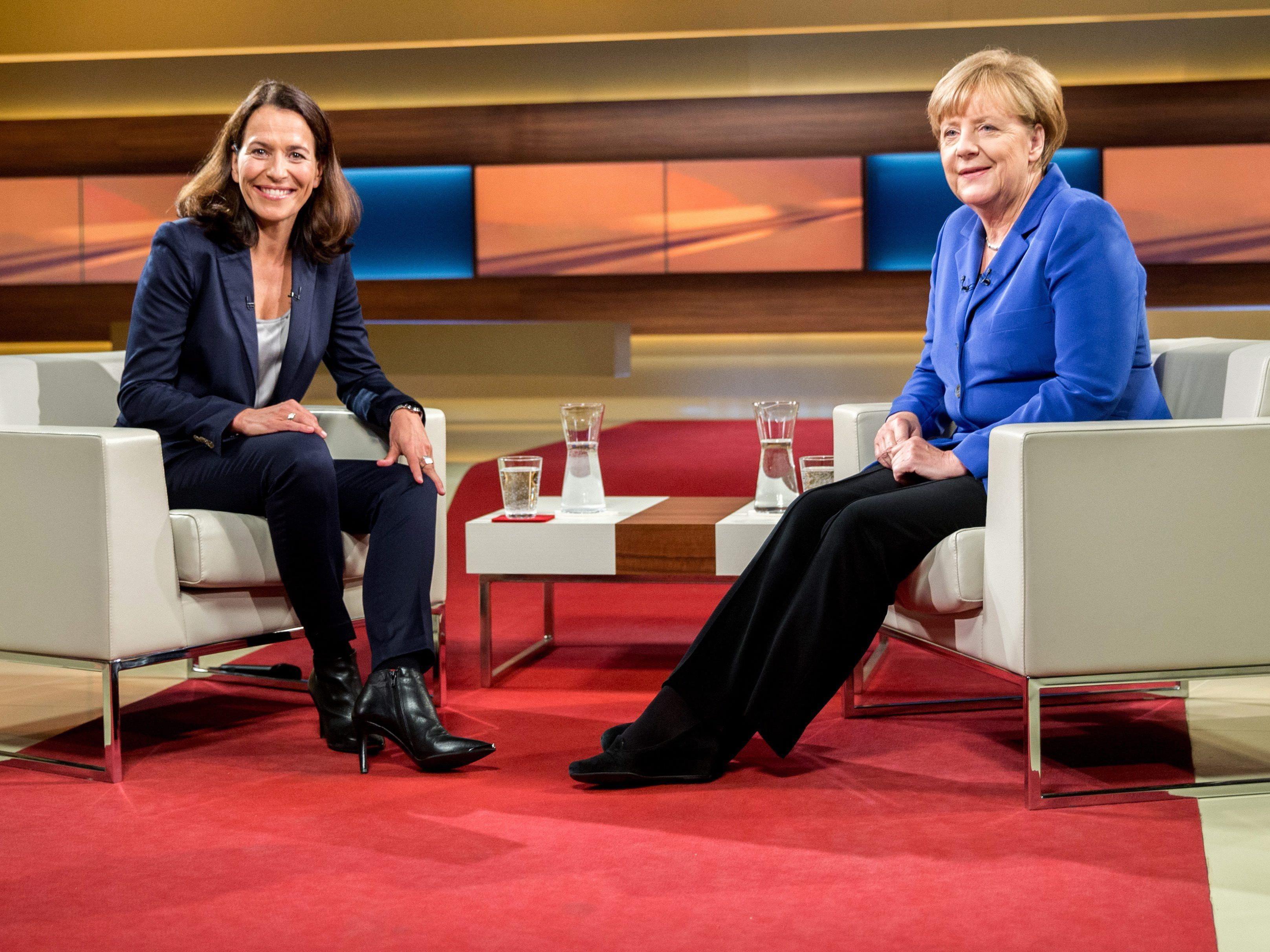 Merkel bei Anne Will: Es gibt keinen Aufnahmestopp.