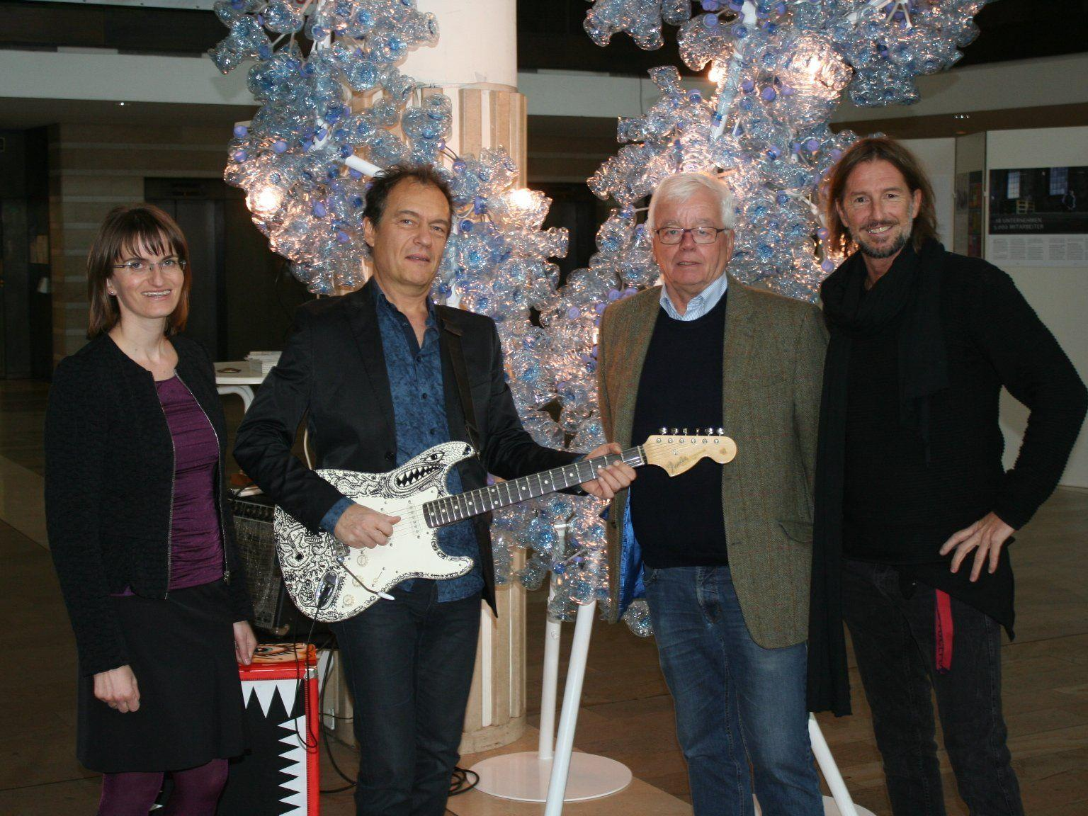 Friederike Hehle, Charly Bonat, Martin Rhomberg, Ferenc Chlumetzky