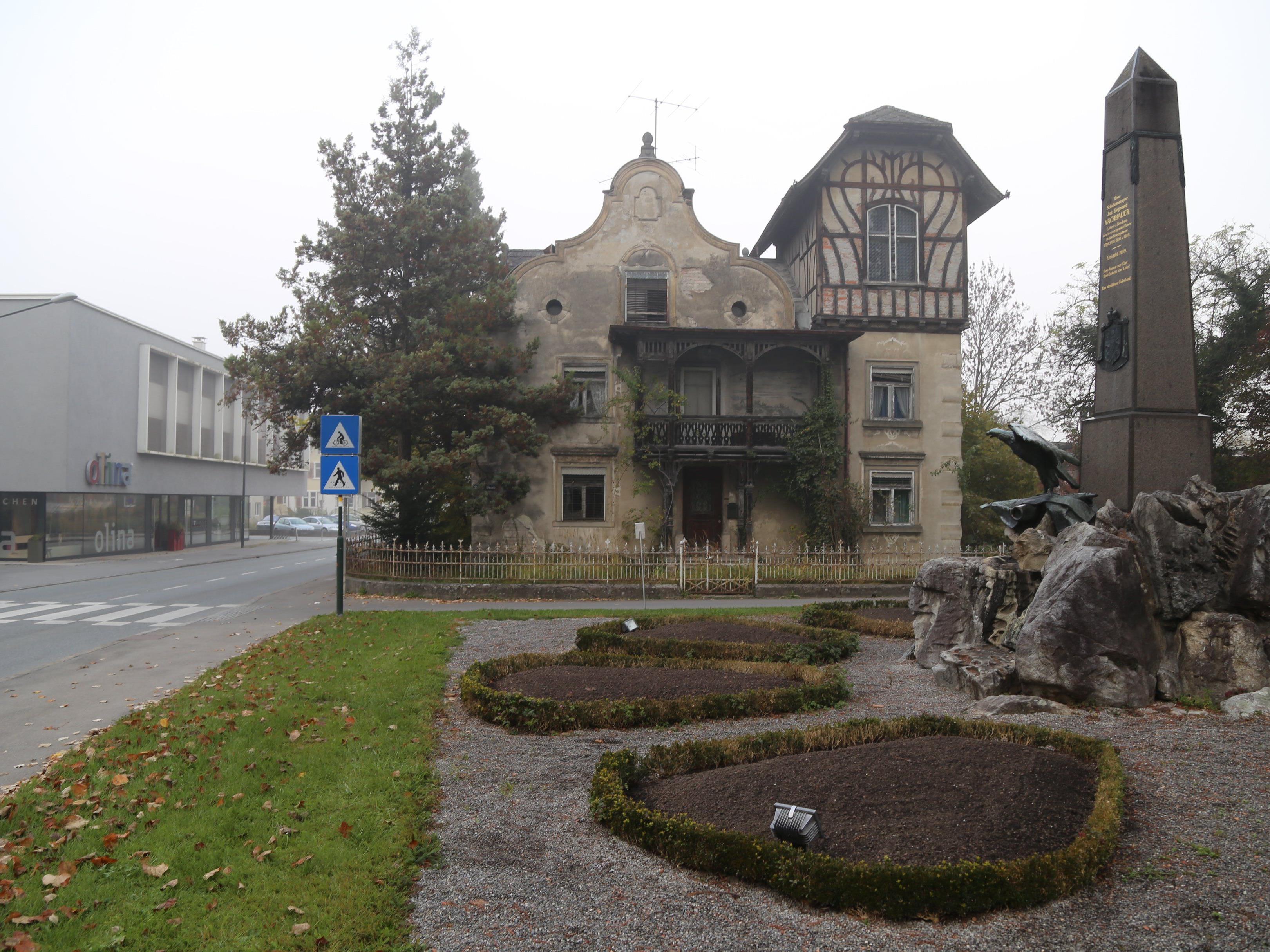Die Häusle-Villa verfällt zunehmend - so die Kritik im Bürgerforum.