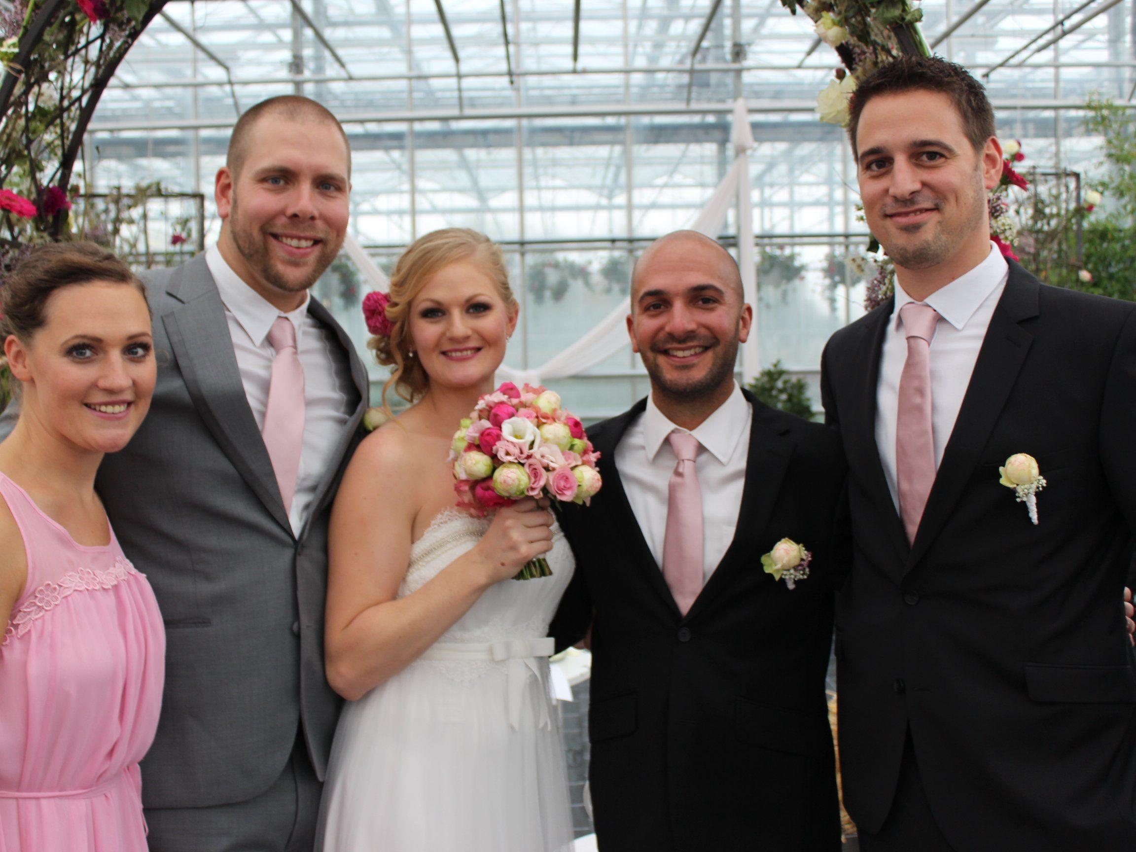 Michaela von Schwerin und Danny Hall haben geheiratet