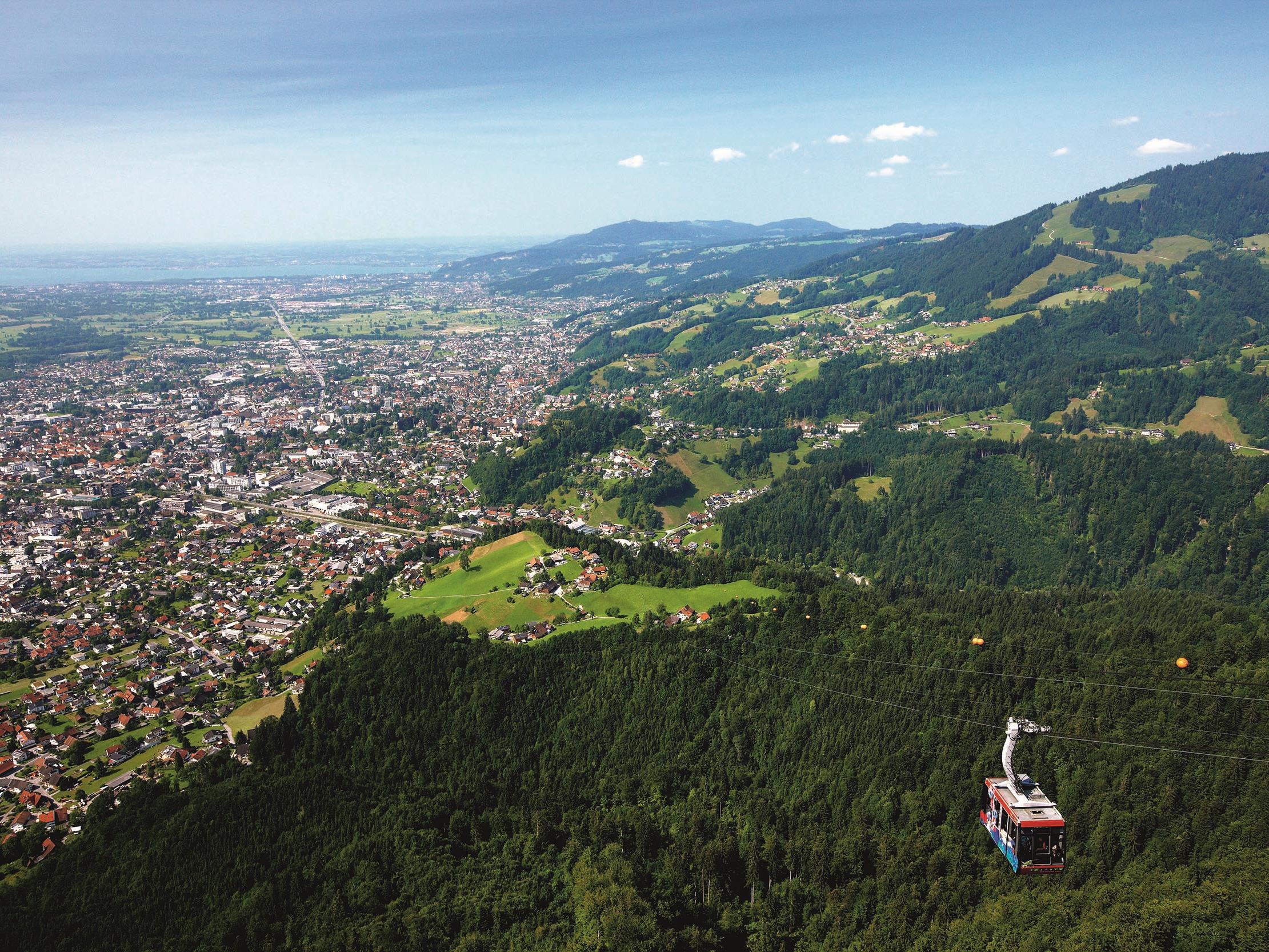 Als erstes Ausflugsziel in Vorarlberg wird der Dornbirner Hausberg ab März des kommenden Jahres über einen zwölf Meter langen Steg verfügen.