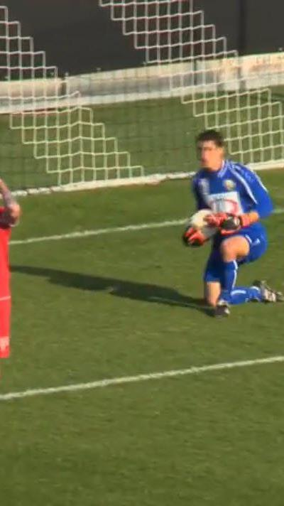 Viele Torszenen in der Partie Altach Amateure gegen FC Dornbirn.