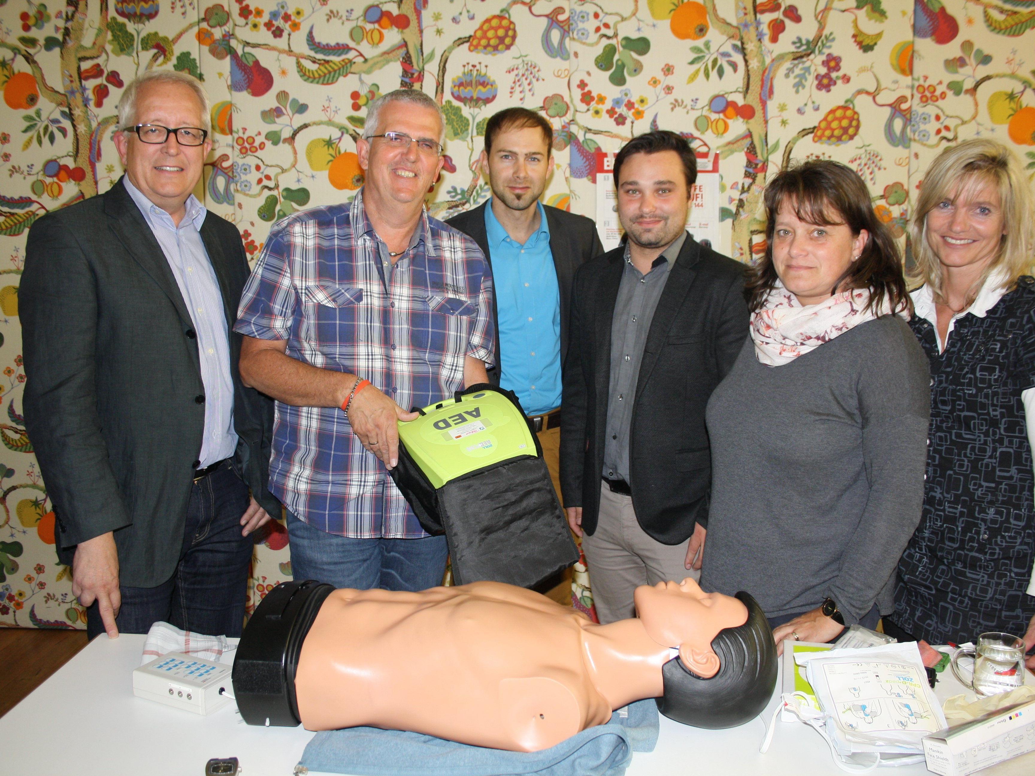 Die Initiative der Verantwortlichen vom Pfarrheim Franz Xaver Lochau, der Vorarlberger Landesversicherung, dem Roten Kreuz und die Gemeinde Lochau fand damit einen erfolgreichen Abschluss.