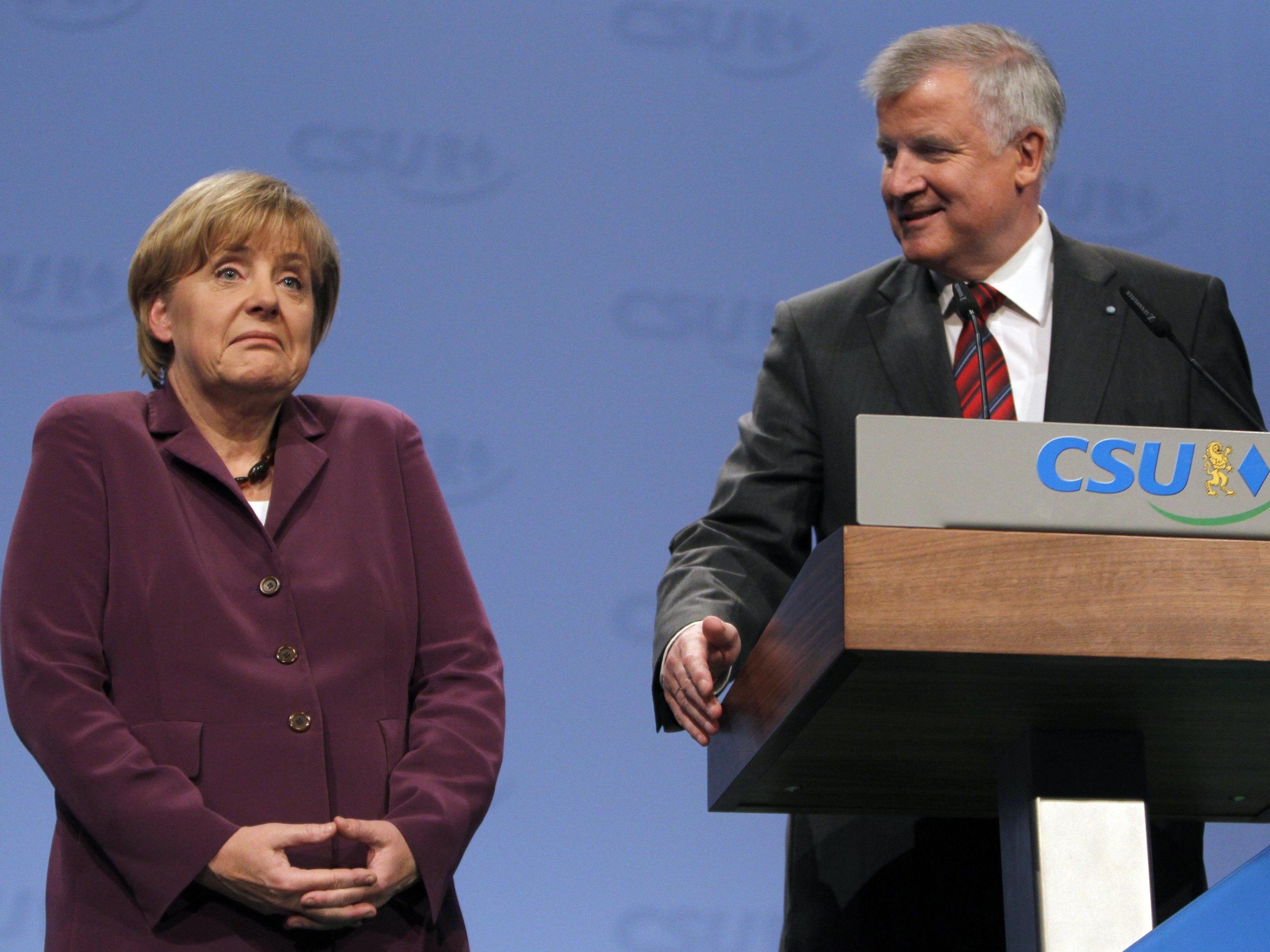 Showdown Merkel - Seehofer.