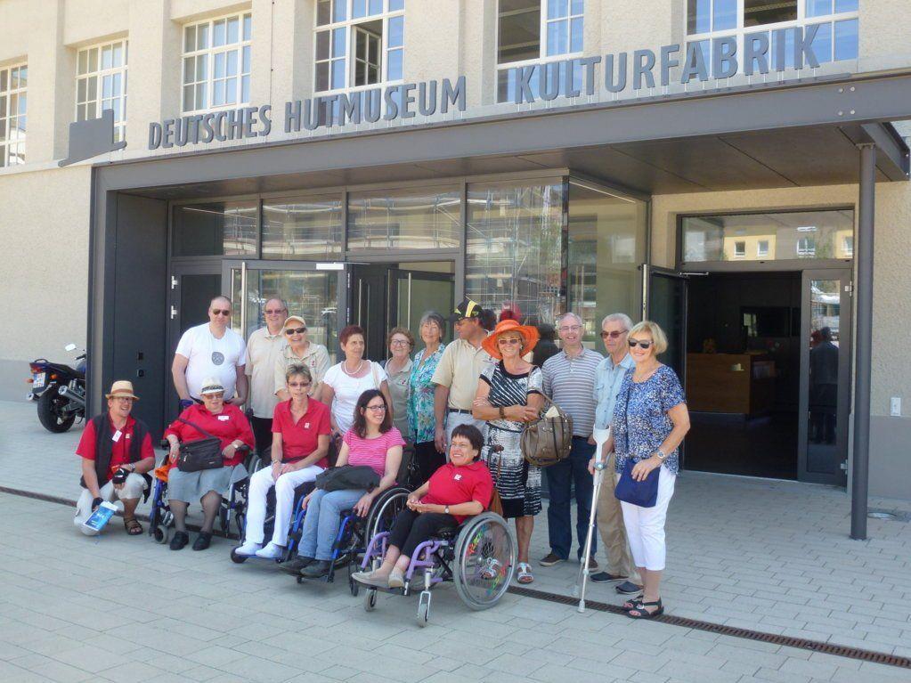 Stammtischler beim Ausflug in Lindenberg
