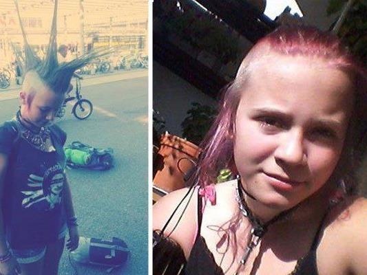 Nach diesem Mädchen wurde in der Wiener Punk-Szene gesucht.