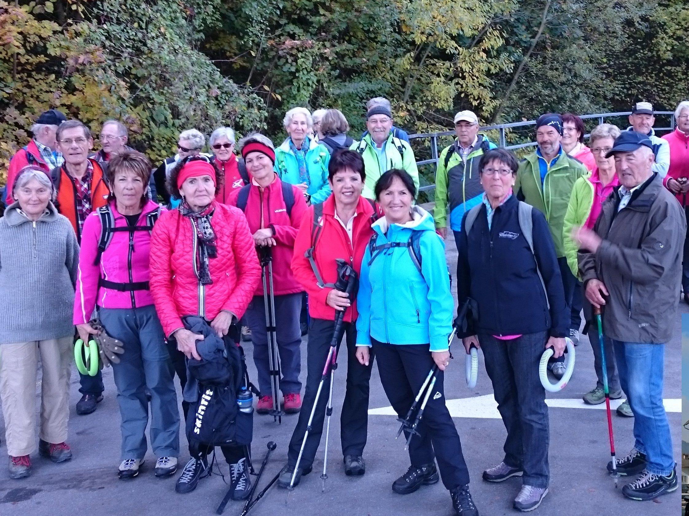 Radteam per pedales auf Wanderschaft in Götzis