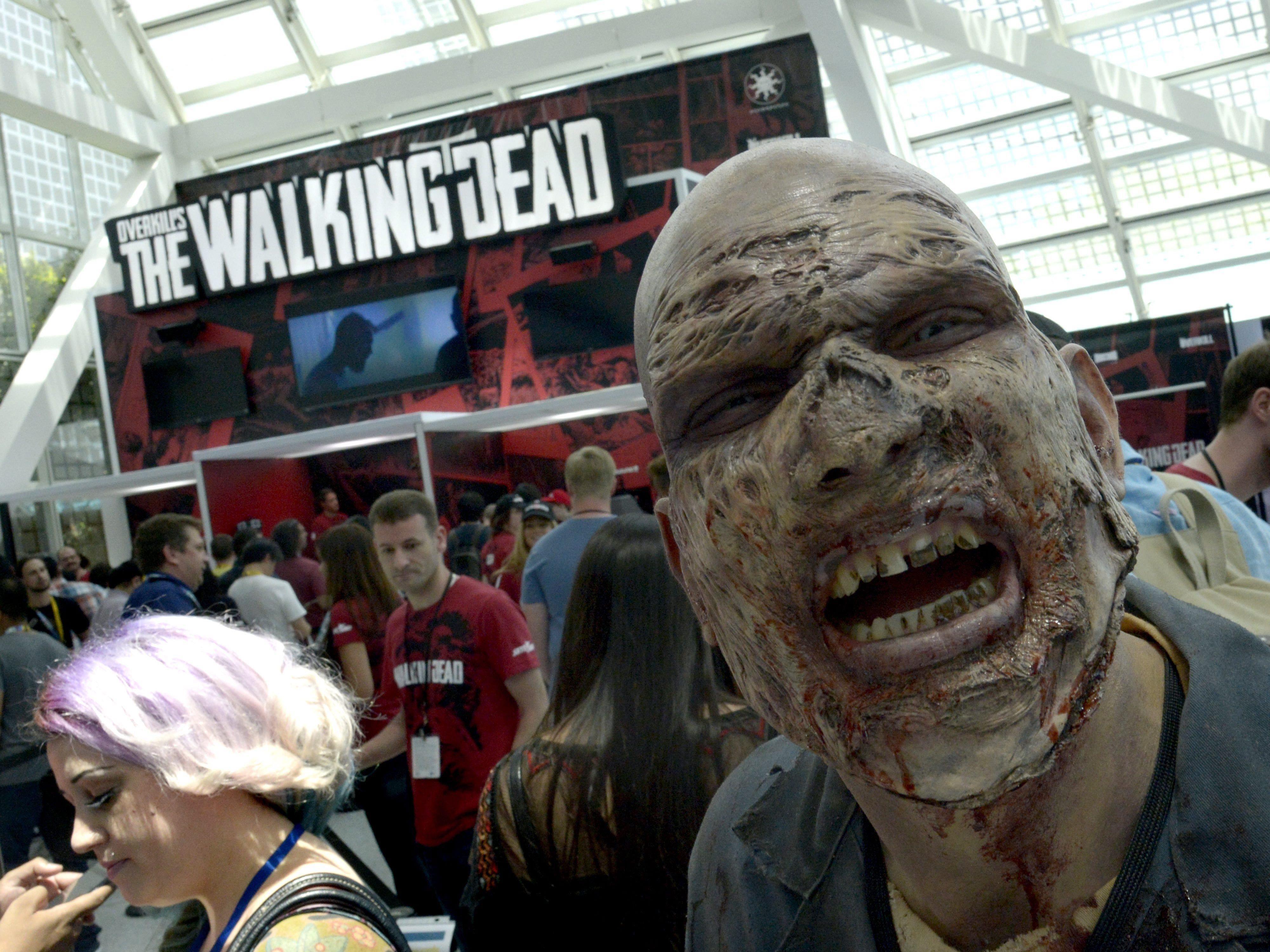 """""""The Walking Dead""""-Fan verübt Gewalttat nach stundenlangem fernsehen."""