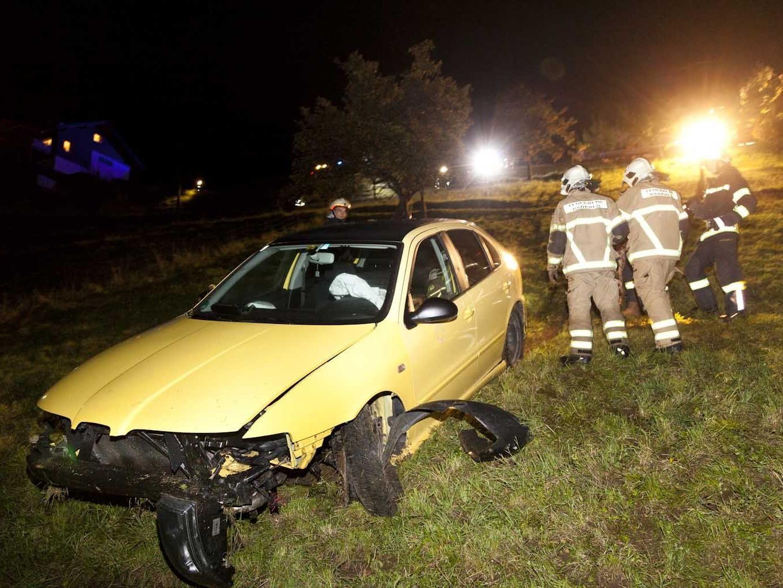 Lenker blieb unverletzt.