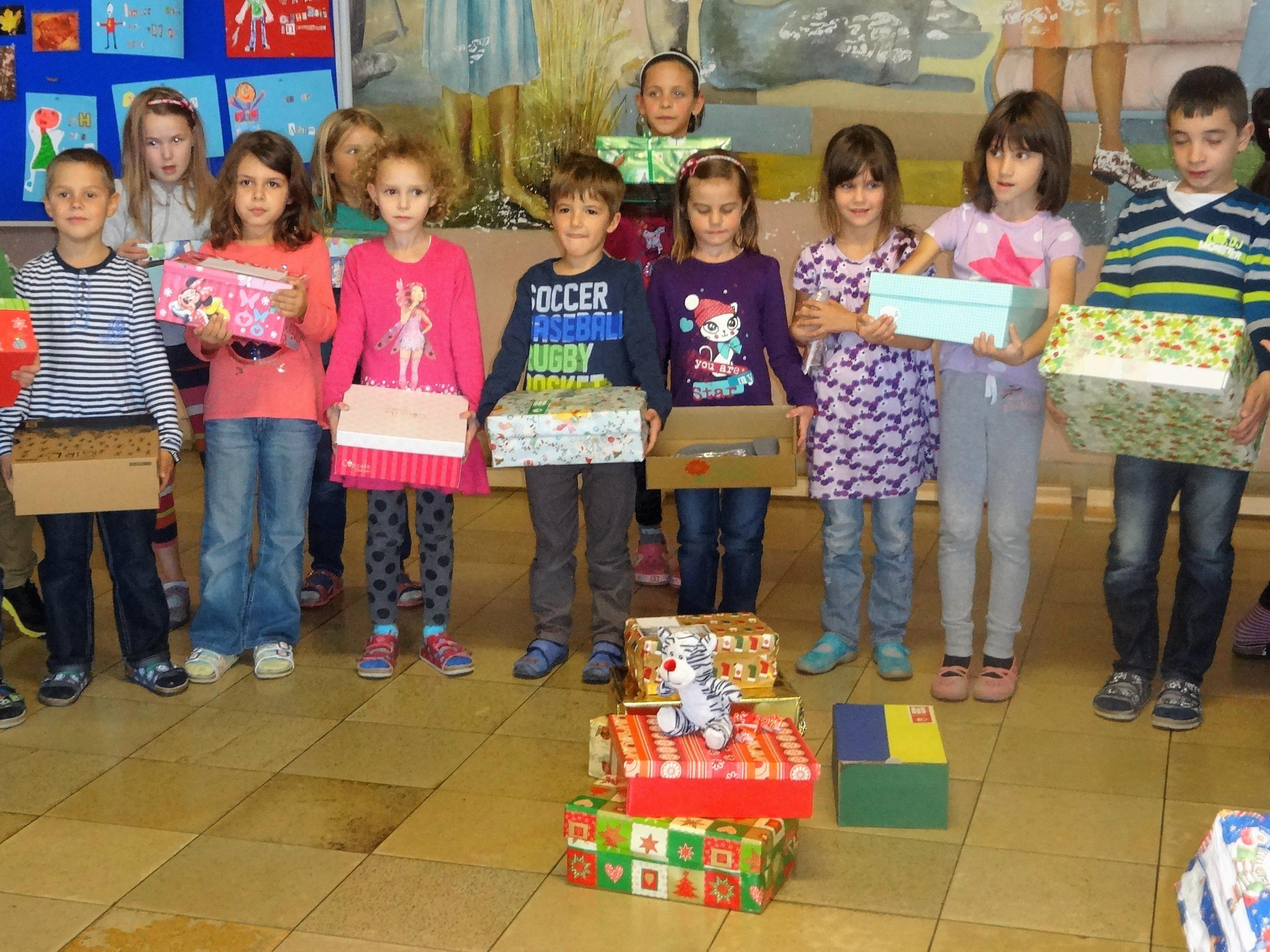 Die Kinder der VS Frastanz Hofen beteiligten sich letztes Jahr an der Aktion