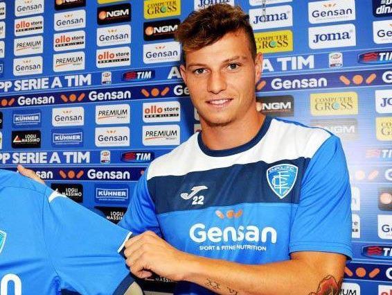 Büchel spielt beim italienischen Serie-A-Club Empoli