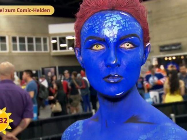 Aus dem Film X-Men: Mystique.