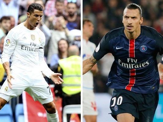 Ronaldo und Ibrahimović bitten in Paris zum Spitzentanz.