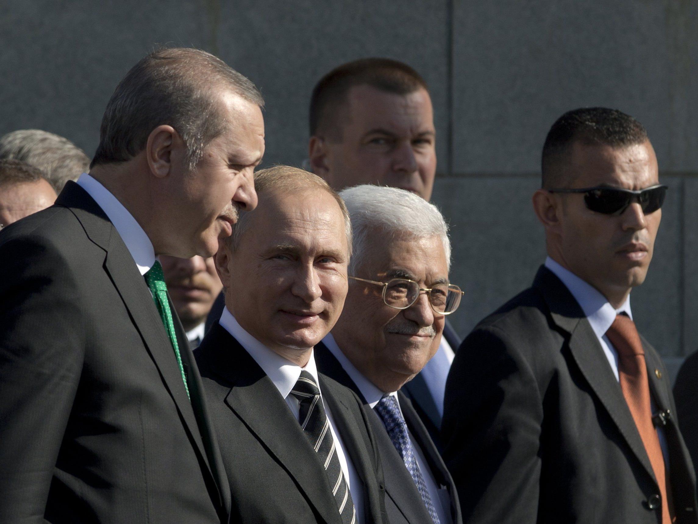 Erdogan und Putin - zwei Alpha-Männchen auf dem internationalen Parkett.